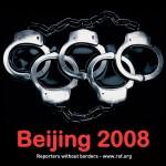 Beijing 2008. Periodistas sin fronteras