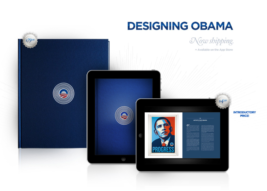 Designing Obama. The book