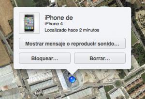 Geolocalizacion del iphone