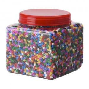 Pyssla cuentas colores - hama beads - Ikea