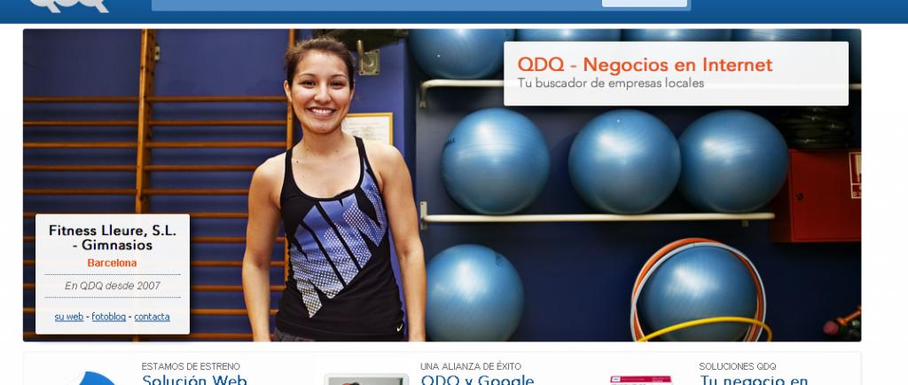 Chica del Gimnasio en Barcelona - QDQ