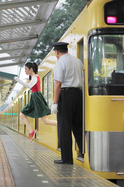 yowayowa levitando en el metro