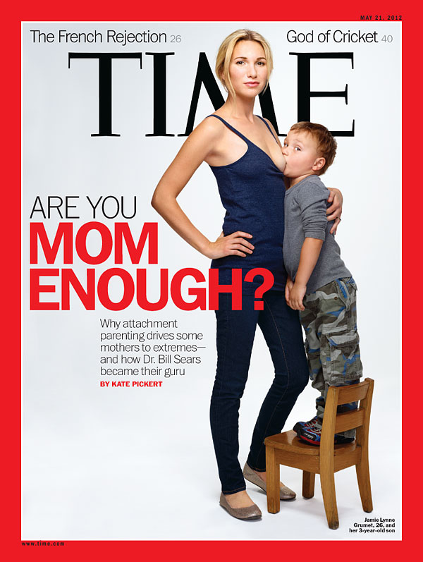are you mom enough revista time
